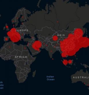 Количество инфицированных коронавирусом в мире достигло почти 87 тысяч человек