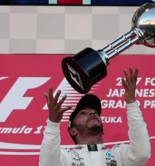 Льюис Хэмилтон стал победителем Гран-при Японии