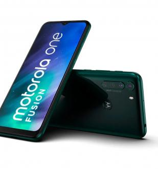 Смартфон Motorola One Fusion получил SoC Snapdragon 710, HD+ дисплей, батарею на 5000 мАч
