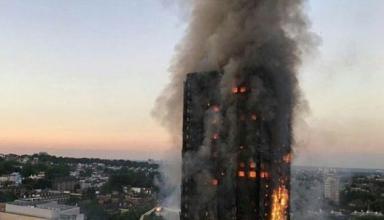 Пожежа в житловому будинку в Лондоні: кількість загиблих зросла до 17