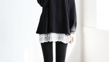Корейская мода для невысоких девушек