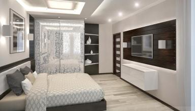 Обустраиваем комнату в стиле хай-тек
