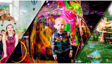 Шоу мыльных пузырей становится популярным у клиентов из Киева