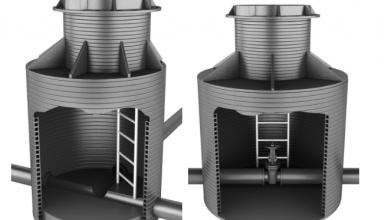 Колодцы из пластика – отличное решение при построении систем водоснабжения