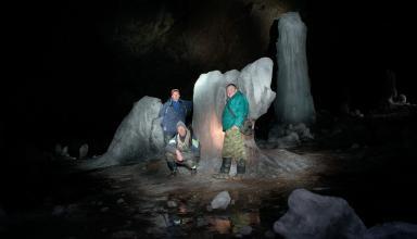 Посещение Шалашовской пещеры