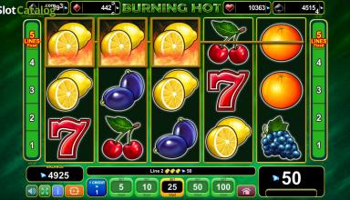Burning Hot Slot – еще один фруктовый слот!