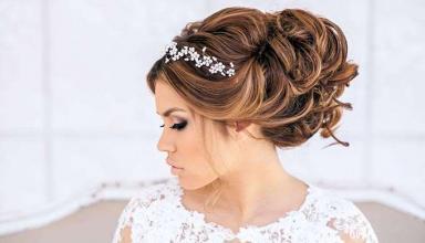 Актуальные свадебные прически с длинными волосами