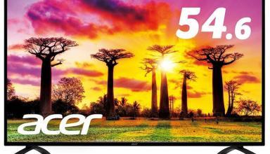 Размер новых 4К-панелей Acer достигает 55 дюймов