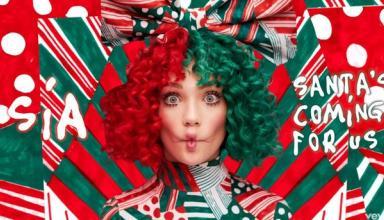 Певица Sia выпустила красочный рождественский сингл