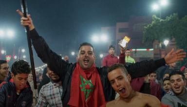 Фанаты сборной Марокко устроили беспорядки и сожгли машину в Бельгии