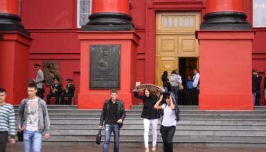 Больше всего заявлений абитуриенты подали в Киевский университет Шевченко