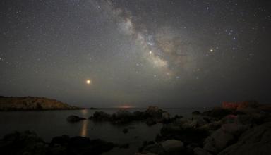 Столкновение с другой галактикой сделало Млечный Путь толще (видео)