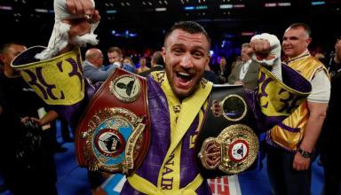 Вновь на вершине: Ломаченко остается лучшим боксером мира