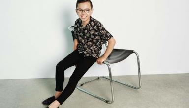 Усадили непоседу. 11-летний мальчик с аутизмом снялся в рекламе H&M