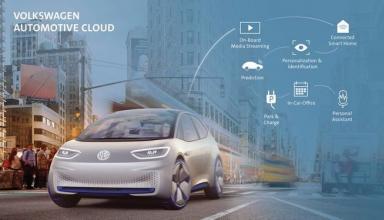 Microsoft подключит автомобили Volkswagen к единому облаку данных