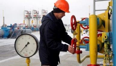 Украина использовала половину газа из хранилищ