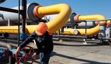 Вырос суточный транзит газа через ГТС в Европу