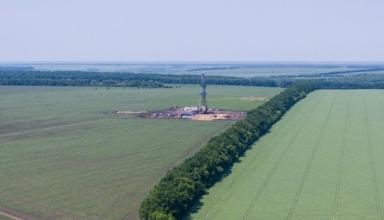 Украина разработала участки газа на 150 млрд кубов