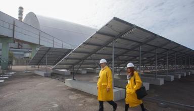 Возрождение. Солнечная электростанция в ЧернобылеСюжет