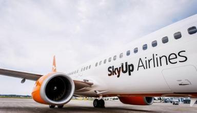SkyUp анонсировала запуск дополнительных рейсов