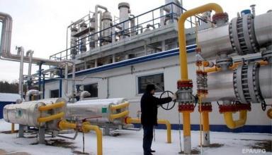 Украина снизила импорт газа почти на четверть