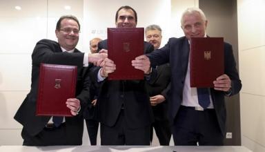 Давос: Киев подписал