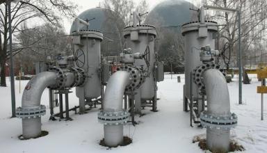 Запасы газа в ПХГ Украины сократились до 34%