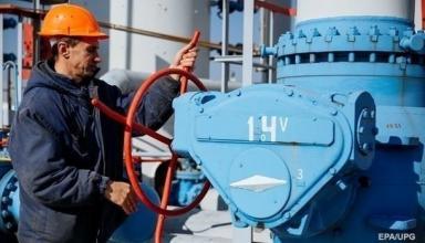 Украина с осени сократила запасы газа почти на 40%