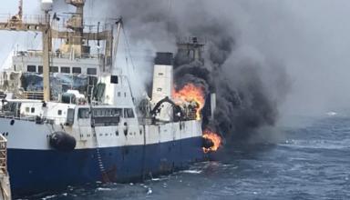 В Украину вернулась часть моряков с траулера, затонувшего у побережья Африки