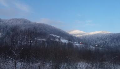 На Драгобрате выпало до 16 см снега