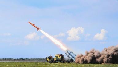 Военные испытали ракетний комплекс Нептун