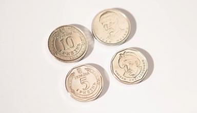 В Украине в обращении появились монеты в 5 гривен
