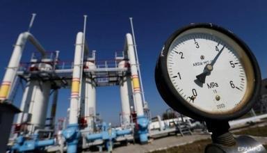 Украина увеличила импорт газа более, чем на треть