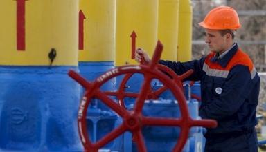 Украина сократила транзит газа на половину