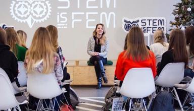 STEM is FEM показал старшеклассницам быт программистов и познакомил с министром