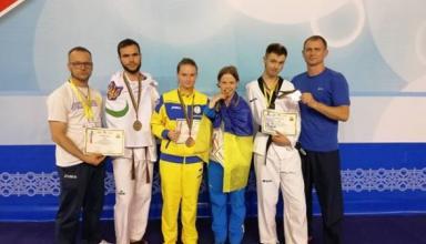 Паралимпийцы из Украины завоевали четыре медали на международном турнире по тхэквондо