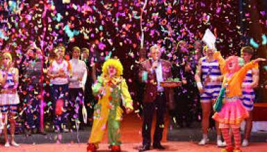 Национальный рекорд Украины: одновременно 250 артистов цирка на арене