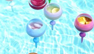 Всего за $2. Плавающие бокалы стали главным трендом лета