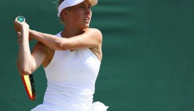 Украинская теннисистка пробилась во второй круг юниорского