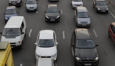 В городах Украины могут сузить ширину полос на дорогах