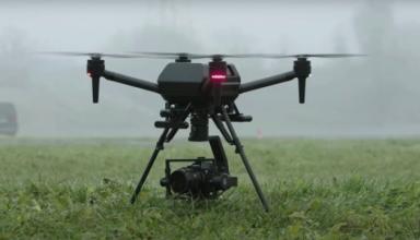 Sony показала беспилотник с искусственным интеллектом