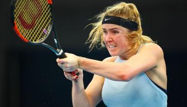 Элина Свитолина выиграла первый матч в 2018 году