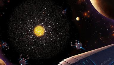 Астрономы поймали