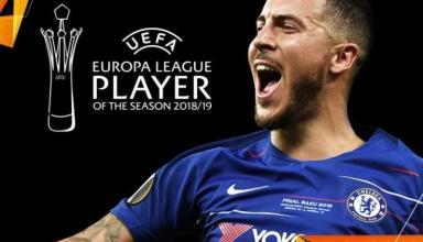 УЕФА назвал лучшего игрока Лиги Европы прошлого сезона