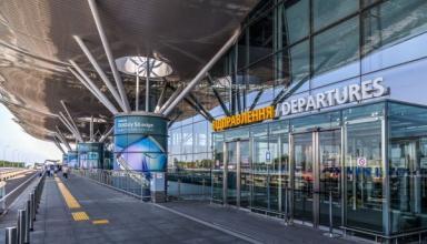 Маски и дистанция: аэропорт