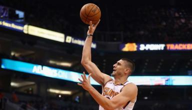 Украинец стал лучшим в матче НБА по подборам