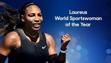 Серена Уильямс признана спортсменкой года по версии Laureus