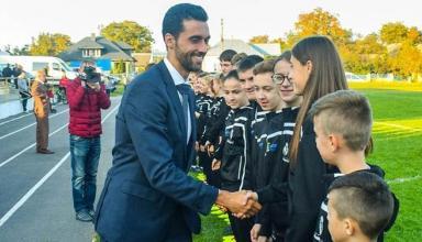 Реал открыл спортивно-социальную школу в Тернополе