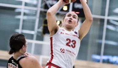 Украинка стала самой результативной баскетболисткой полуфинала чемпионата Швейцарии