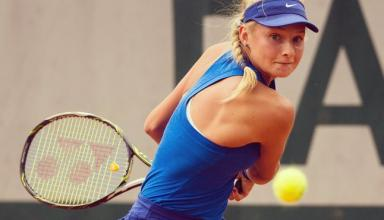 18-летняя украинка пробилась в полуфинал теннисного турнира в Гонконге